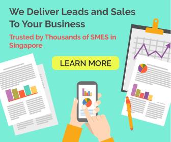 leads and sales banner